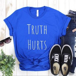 Truth Hurts TShirt Lizzo Royal Blue - NWT NEW